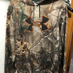 Under Armour camouflage hoodie